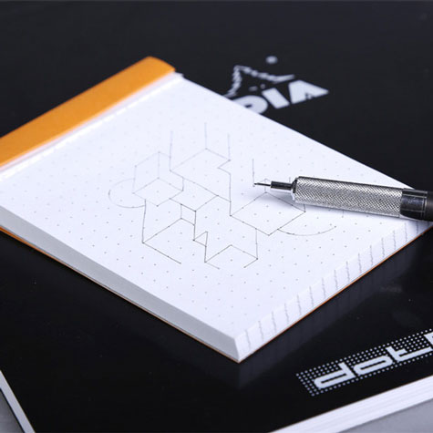Blok Rhodia Basics 80 gsm