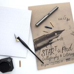 Blok do Kaligrafii SMLT Art Start Pad Calligraphy & Lettering 90 gsm