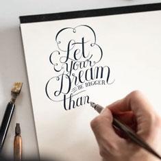 Blok do Kaligrafii Rhodia Touch Calligrapher Pad 130 gsm
