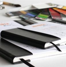 Szkicownik Rhodia Touch Pen Inkwash Book 200 gsm