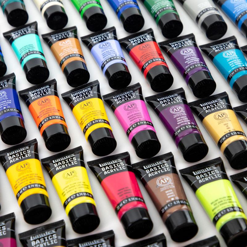 Farby Akrylowe Liquitex Basics Zestawy