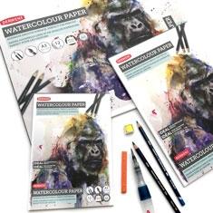 Blok do Akwareli Derwent Watercolour Pad 300 gsm