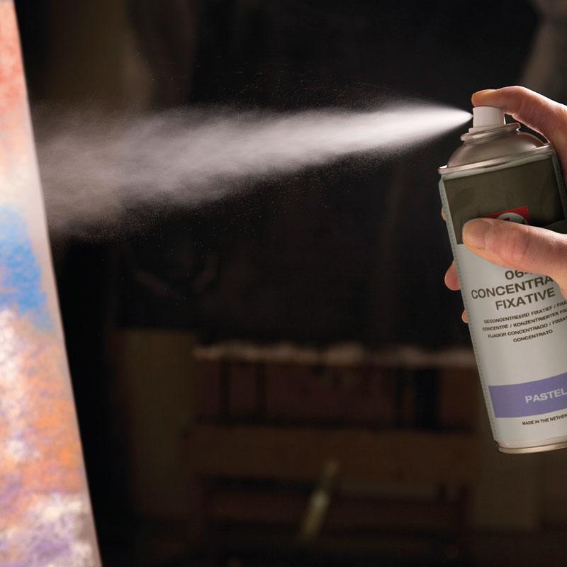 Werniksy i Fiksatywy w Sprayu Talens