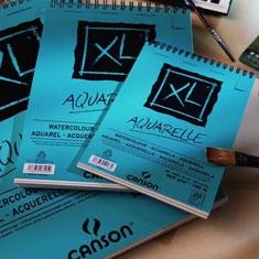 Blok do Akwareli Canson XL Aquarelle