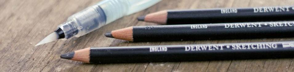 Ołówki Akwarelowe Derwent Sketching Watersoluble
