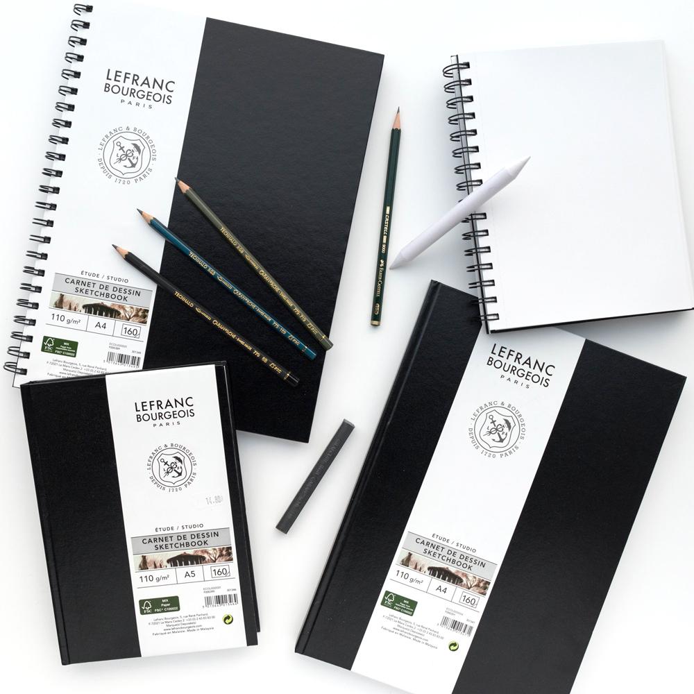Szkicownik Lefranc Bourgeois Sketchbook 110 gsm