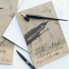 Blok do Kaligrafii SMLT Art Start Pad Calligraphy & Lettering Dotted 90 gsm