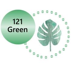 121 Metallic Green