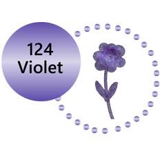124 Metallic Violet