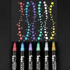 Pisaki Kuretake Clean Color Dot Meatllic