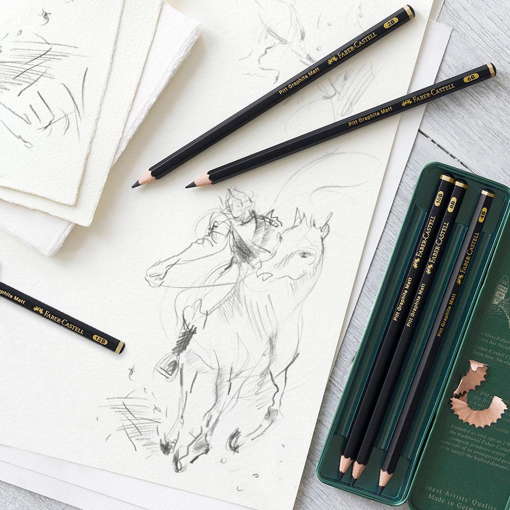 Ołówki Faber Castell Pitt Graphite Matt