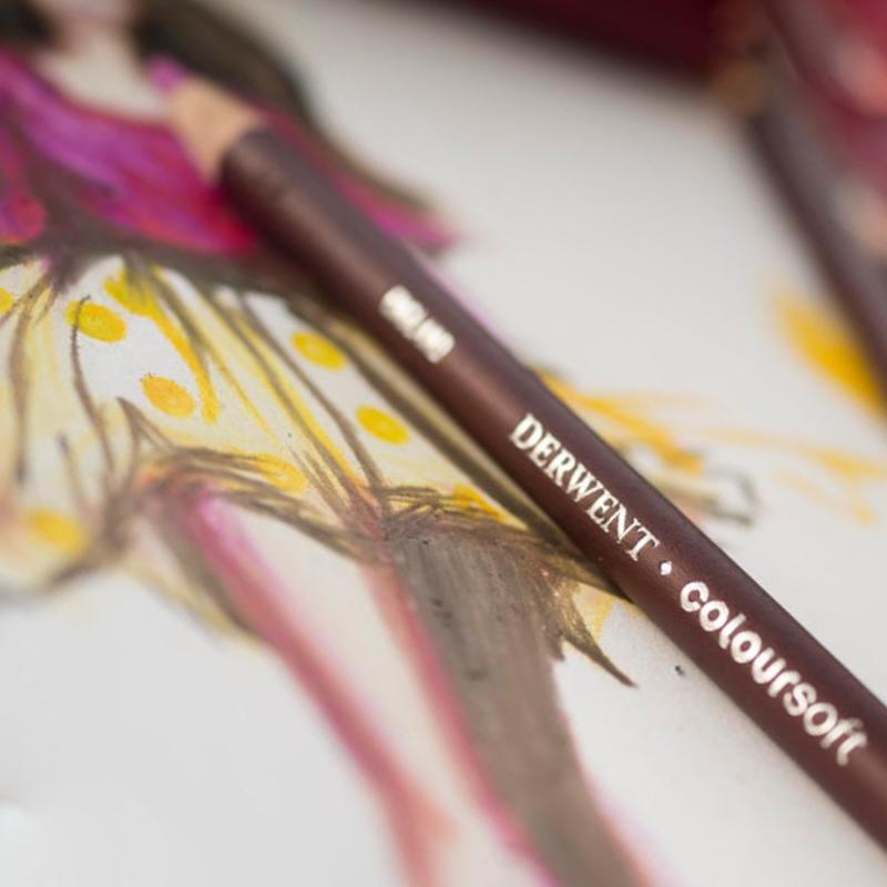 Zestawy Kredek Derwent Coloursoft