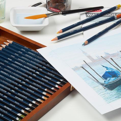 Kredki Akwarelowe Derwent Watercolour