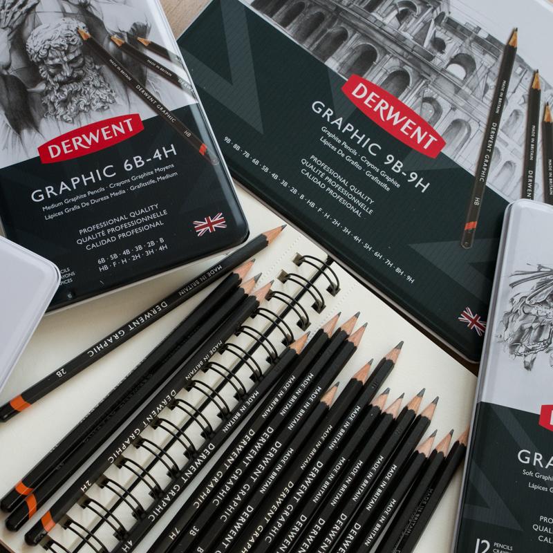 Zestawy Ołówków Derwent Graphic