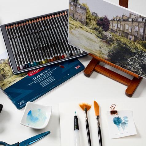 Zestawy Ołówków Kolorowych Derwent Graphitint