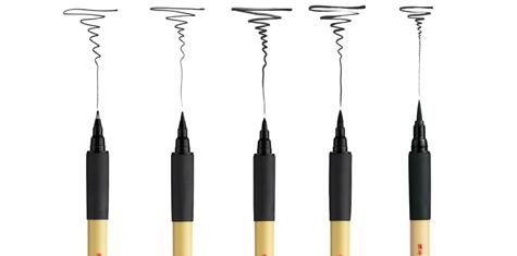 Kuretake Brush Pen Bimoji