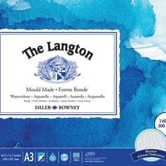Papier do Akwareli Daler-Rowney Langton