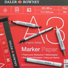 Papier do Markerów Daler-Rowney Graphic Series Marker Paper