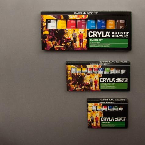 Zestawy Farb Akrylowych Daler-Rowney Cryla Artists Acrylic