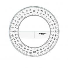 Kątomierz Plexi 360°
