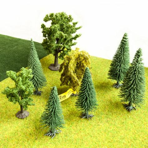 Drzewka do Makiet