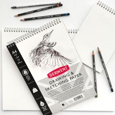 Blok do Rysowania Derwent Drawing & Sketching Paper 165 gsm