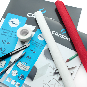 Blok Canson Techniczny 190 gsm