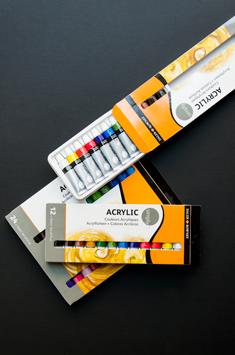 Zestawy Farb Akrylowych Daler-Rowney Simply Acrylic