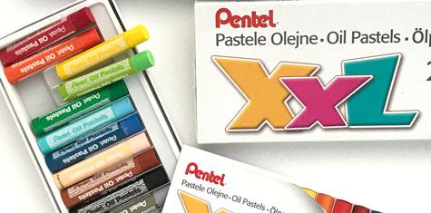 Zestawy Pasteli Olejnych Pentel XXL