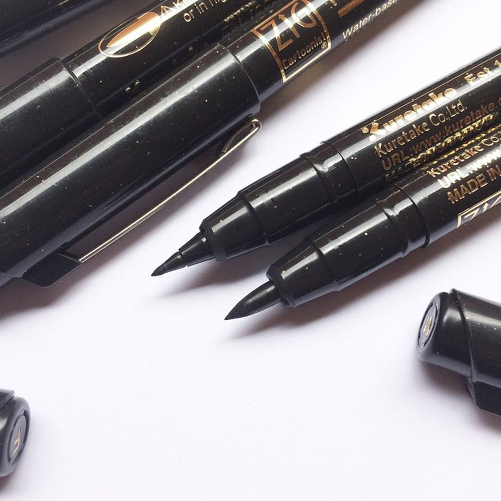 Brush Pen Kuretake Mangaka Flexible