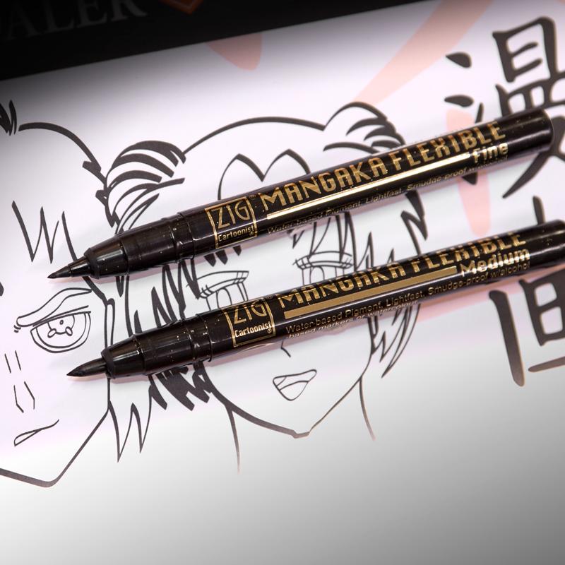 Kuretake Brush Pen Mangaka Flexible