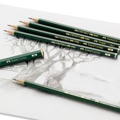 Ołówki Faber-Castell CASTELL 9000