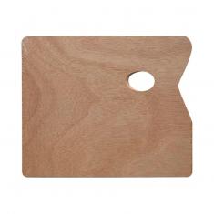 Paleta Malarska Drewniana Prostokatna 25x30 cm A15442