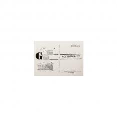 BLOK GAMMA FABRIANO ACCADEMIA A4 120G 100 ARK.  A1202129K100