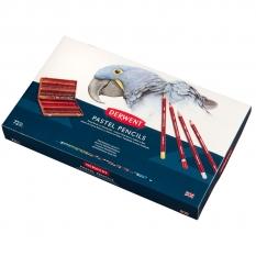 KREDKI PASTELOWE DERWENT PASTEL PENCILS 72 WOODEN BOX 2300343