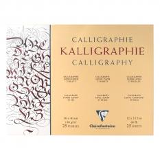 Papier Do Kaligrafii Clairefontaine Calligraphy 130 Gsm 30 X 40 Cm 25 Ark. 96440c