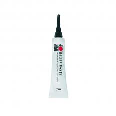Marabu Relief Paste 20 Ml 770 Metallic White