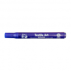 Nerchau Textile Art 27 Violet