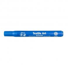 Nerchau Textile Art 35 Blue