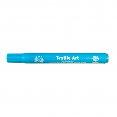 Nerchau Textile Art 36 Light Blue