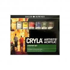 Zestaw Farb Akrylowych DaleR-Rowney Cryla Starter Set 6 X 22 Ml 125900006