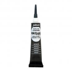 KONTURÓWKA DO PORCELANY PEBEO PORCELAINE 150 20 ML 06 ANTHRACITE BLACK