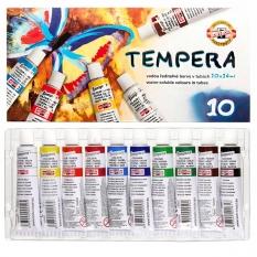 Tempery Koh-I-Noor 10 x 16 ml set 162548