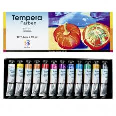 Tempera Nerchau 12 x 19 ml set 119012