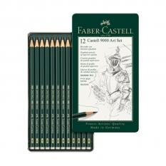 ZESTAW OŁÓWKÓW FABER-CASTELL CASTELL 9000 12 ART SET 119065