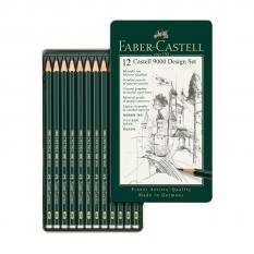 ZESTAW OŁÓWKÓW FABER-CASTELL CASTELL 9000 12 DESIGN 119064