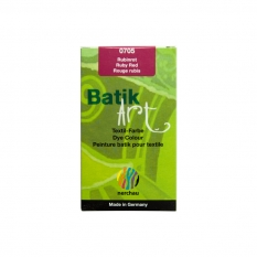 BARWNIK DO BATIKU NERCHAU RUBY RED 75 G 07050000