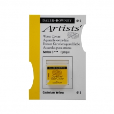 FARBA AKWARELOWA DALER-ROWNEY ARTISTS HALF PAN 612 CADMIUM YELLOW (C)