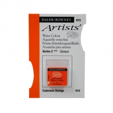 FARBA AKWARELOWA DALER-ROWNEY ARTISTS HALF PAN 615 CADMIUM ORANGE (C)