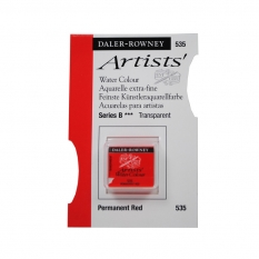 FARBA AKWARELOWA DALER-ROWNEY ARTISTS HALF PAN 535 PERMANENT RED (B)